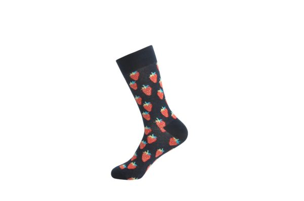 cool strawberry socks