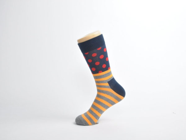 colourful polka dots socks men