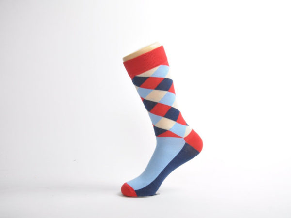 funky dress socks