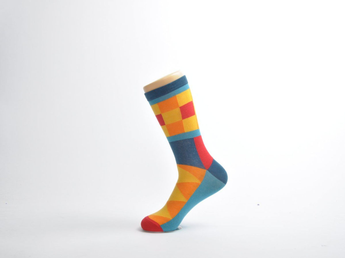 colourful men's socks