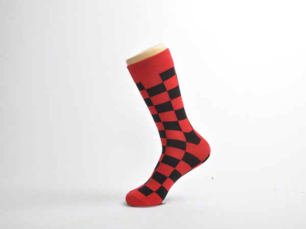 checkers club socks men
