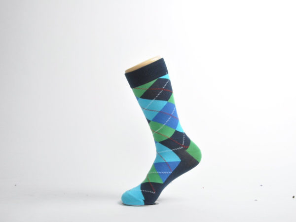 argyle bamboo socks men