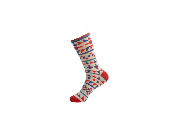 funky men's bamboo cotton socks