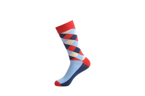 funky colourful dress socks men