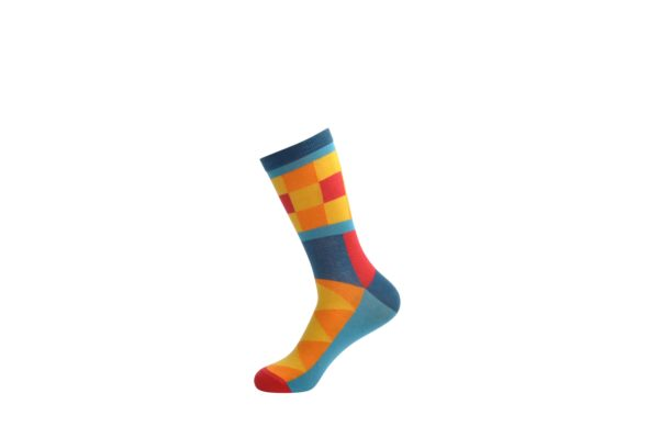 colourful bamboo cotton socks men