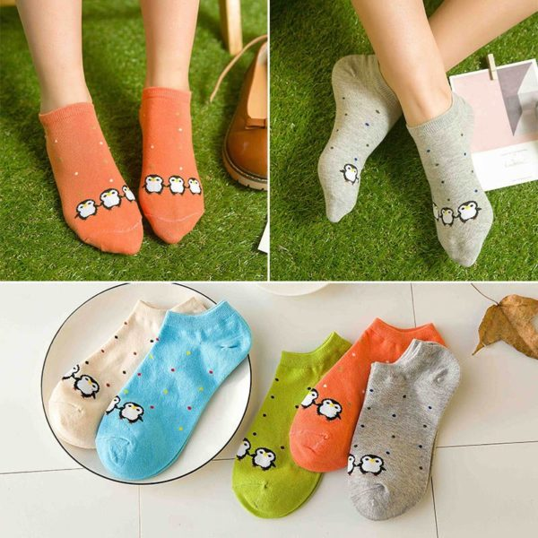 happy ankle socks women