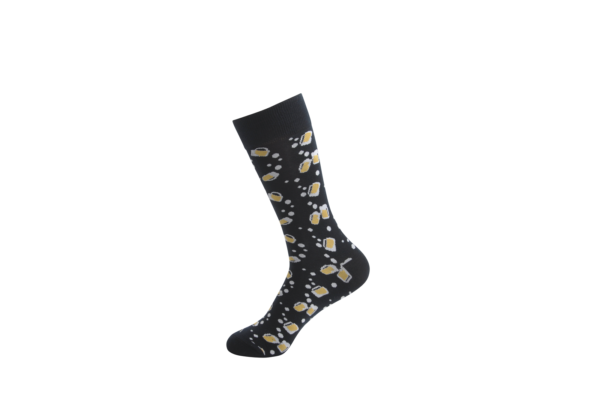 quirky beer socks