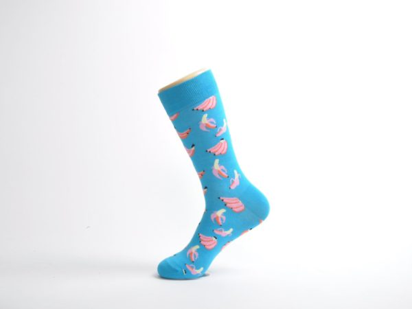 fun banana socks