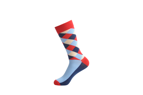 dress pattern socks
