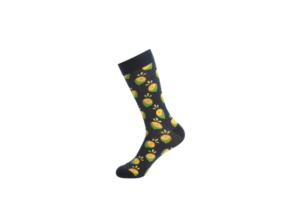 fruit pattern socks