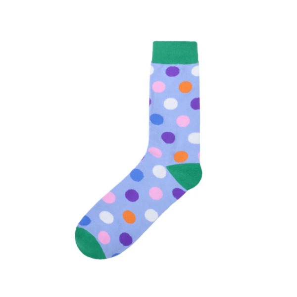 polka dot fun socks