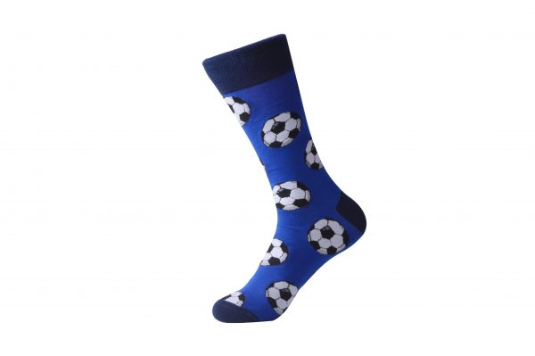 football print socks