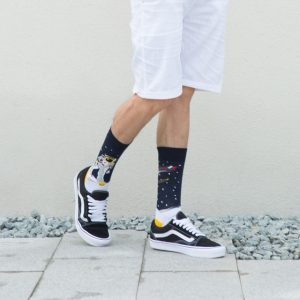 printed socks for sneakers