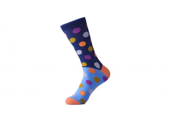 cool polka dot socks