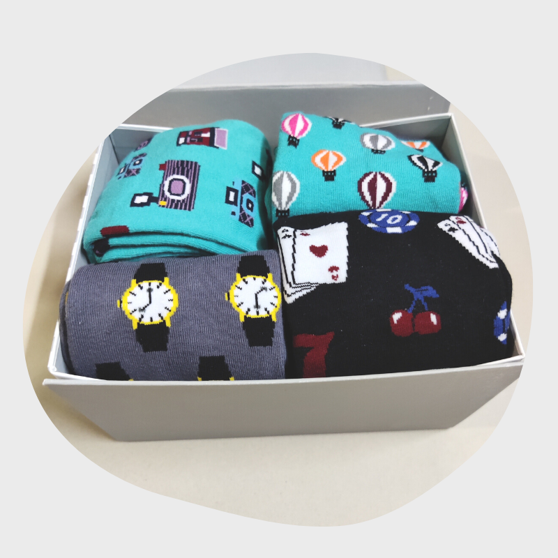 lifestyle socks box
