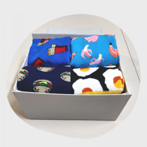 food socks box