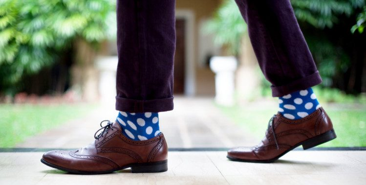 statement socks for men
